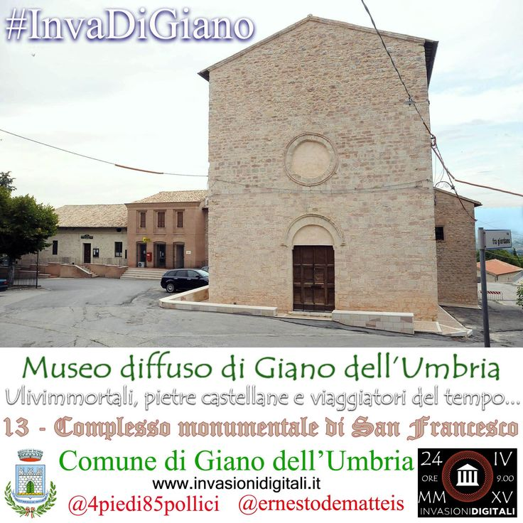 Complesso monumentale di san Francesco d'Assisi #InvaDiGiano2015 #invasionidigitali