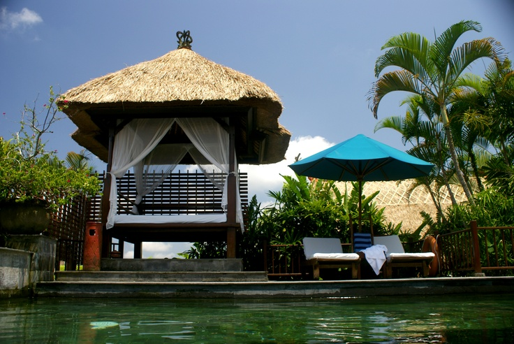 Luxury pool Villa, Kamandalu Resort & Spa, Ubud, Bali.. i'm comin back for sure!
