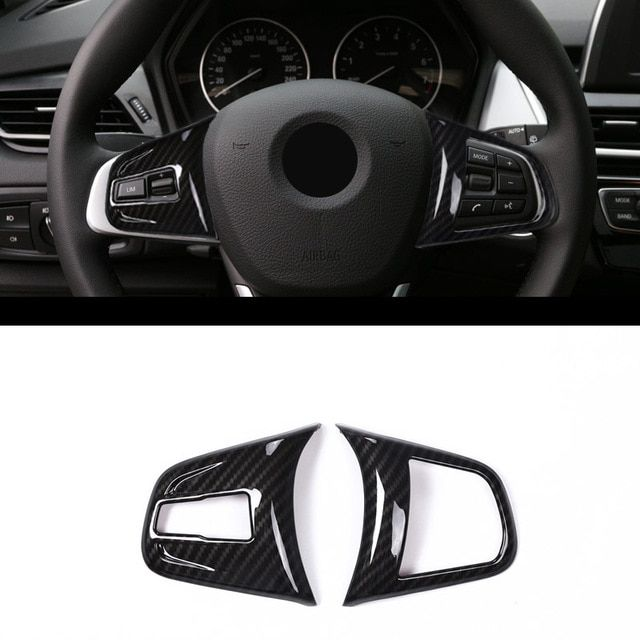 Car Chorme Steering Wheel Cover Trim fit For Jaguar F-pace 2016-2018