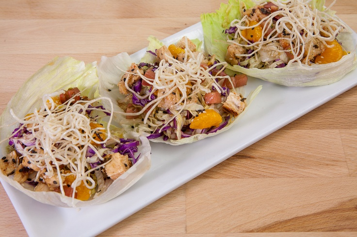 Chinese Chicken Lettuce Cups.
