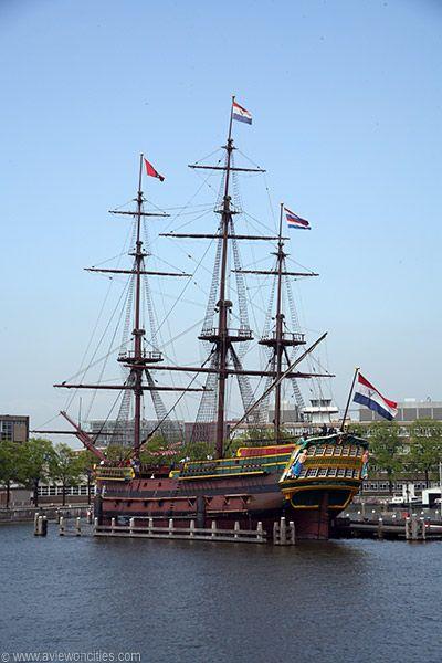 The VOC Ship 'Amsterdam' - Amsterdam, Netherlands