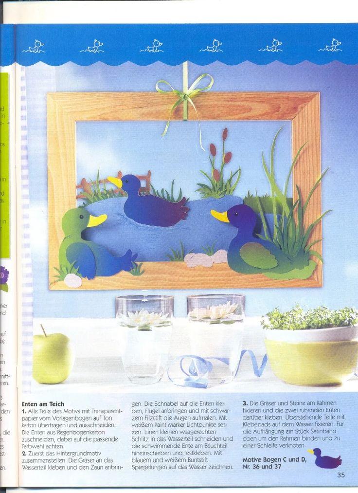 1440 best Fensterbilder images on Pinterest   Easter crafts, Album ...