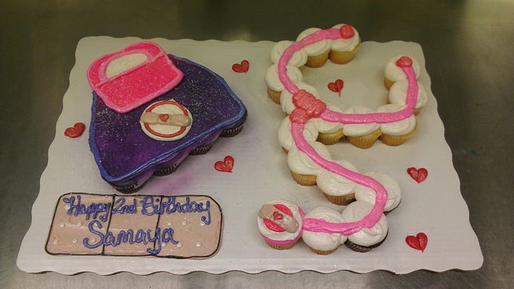 Cakes By Ranelle - Birthday - Doc McStuffins Cupcake Cake