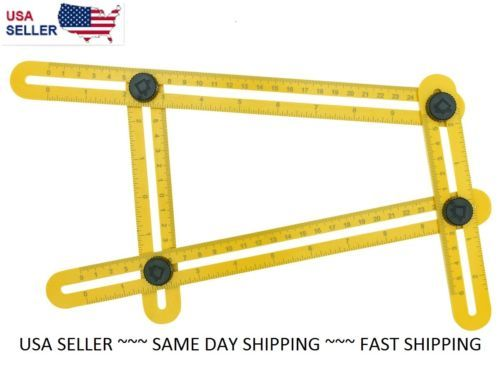 Angle-izer-Multi-Angle-Ruler-Template-Tool-Angleizer-USA-SHIPPING-QUALITY