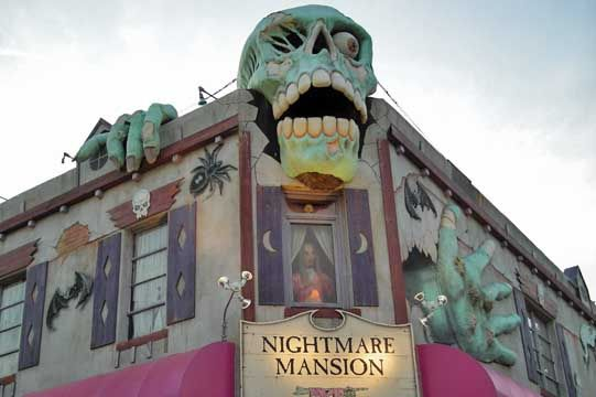 Haunted Mansion Restaurant Virginia Beach
