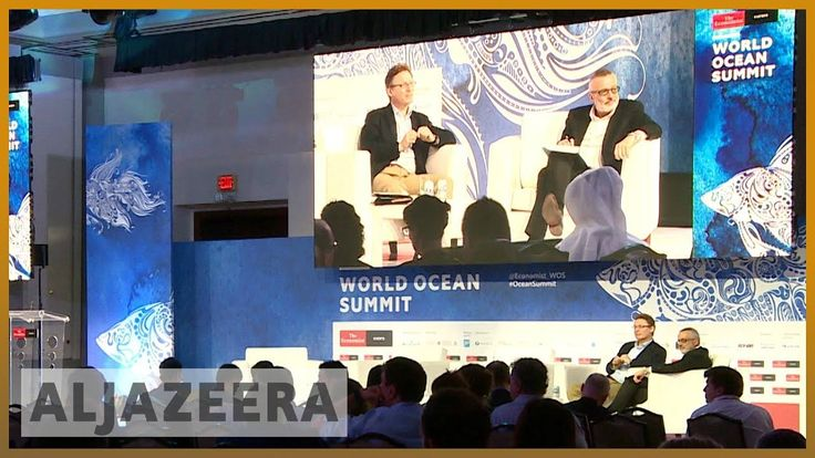 World Ocean Summit 2018 concluded in Mexico | Al Jazeera English Friday was the final day of the World Ocean Summit held on Mexico's Riviera Maya. It's a chance for business government and environmental leaders to talk about the problems facing the world's seas and to come up with solutions to protect the planet's vast ocean resources. Al Jazeera's John Holman reports from Rivera Maya Mexico. - Subscribe to our channel: http://ift.tt/291RaQr - Follow us on Twitter…