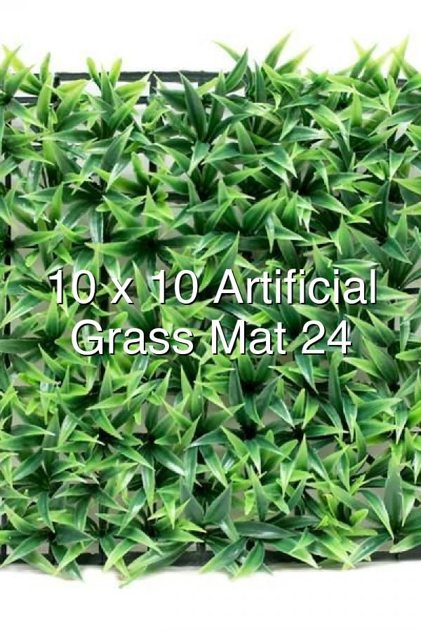 10 X 10 Artificial Long Grass Mat 24 Pieces In 2020 Artificial Grass Mat Grass Lush Lawn
