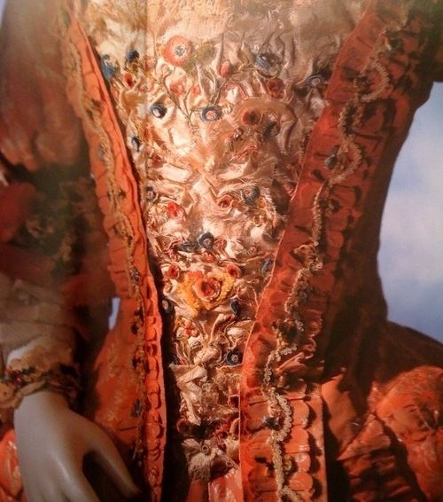 Rococo dress - love the detailing