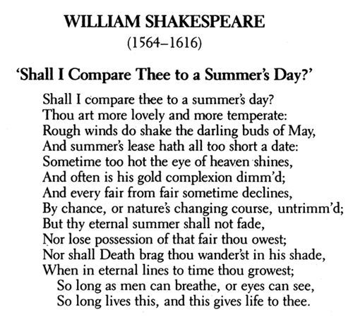From The Great Poem: William Shakespeare Poems And Quotes. QuotesGram