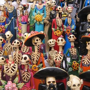 day of the dead - catrinas