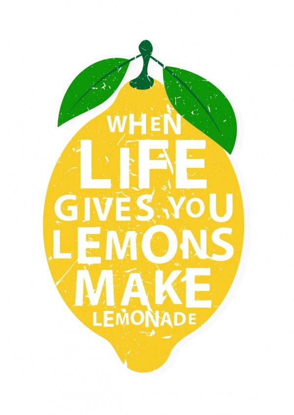 When life gives you lemons | Motivation | Echte Postkarten online versenden…