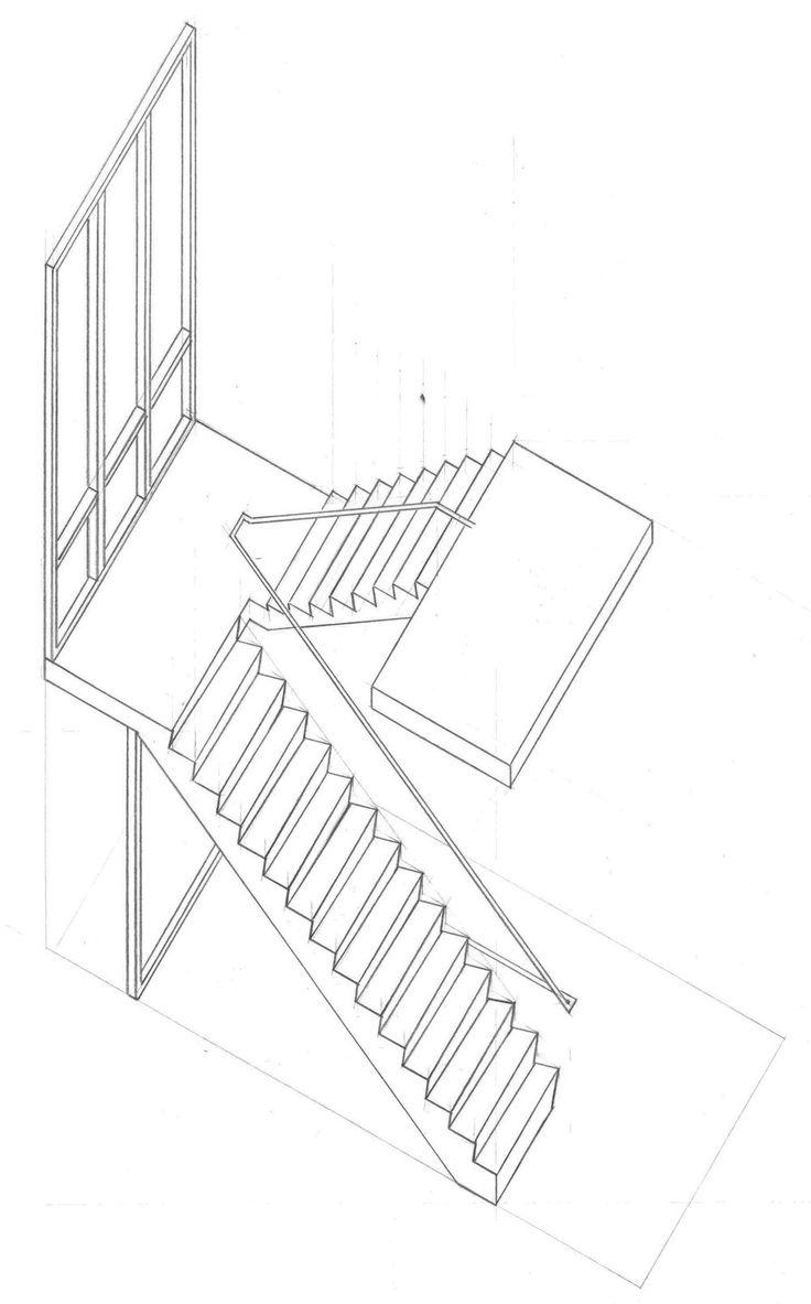 axonometric stairs