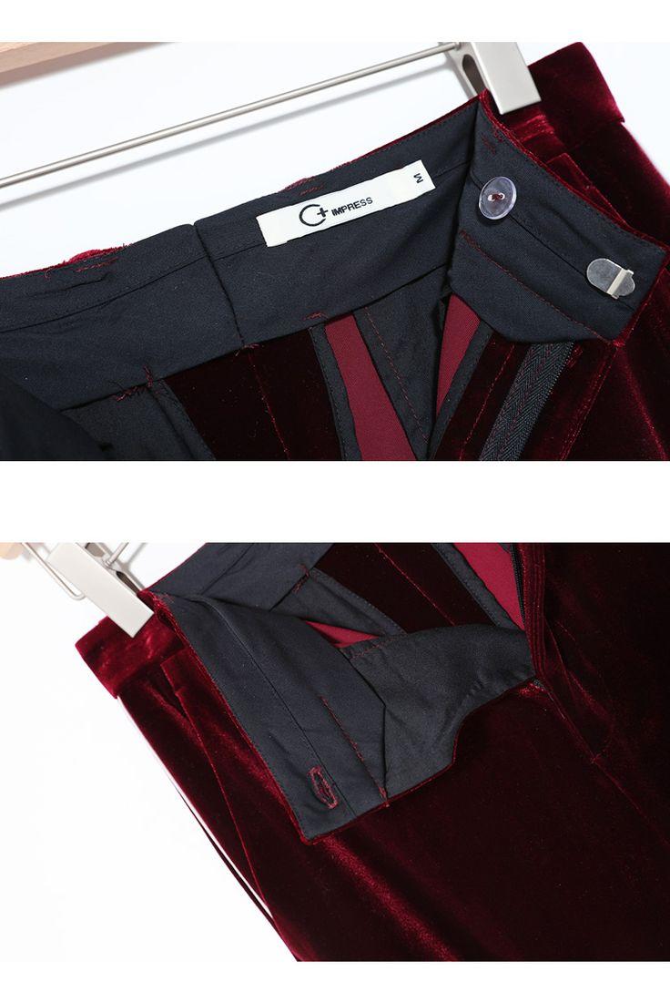 Отличное качество 2017 Золото бархатные костюмы женская мода тонкий двубортный красное вино бархатный пиджак женский пиджак одежда купить на AliExpress