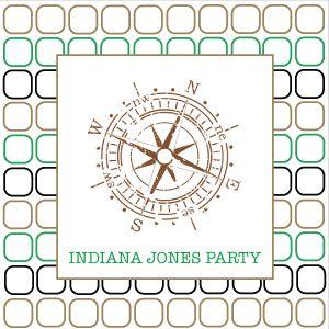 Indiana Jones Printable Party Collection @jetjesenjobjes