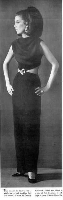 Yves St Laurent Bikini dress 1967
