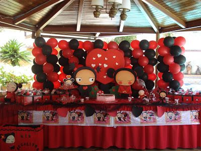 Pucca decoraci n de fiestas de cumplea os infantiles - Decoracion de cumpleanos infantiles ...