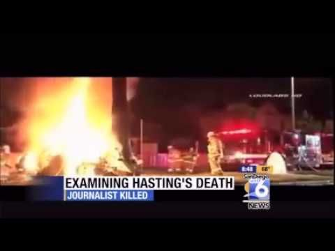 Michael Hastings Crash Investigation Heats Up, Police and Fire Told Not to comment! - YouTube