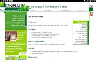 PSORIAZIS-CORESPONDENTA  DENIPLANT: Ceai pentru tratarea dermatitelor