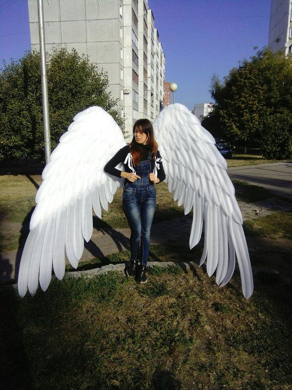 Giant Angel Wings Costume Large Cosplay Wings Form N33 Cosplay Wings Wings Costume Angel Wings Costume