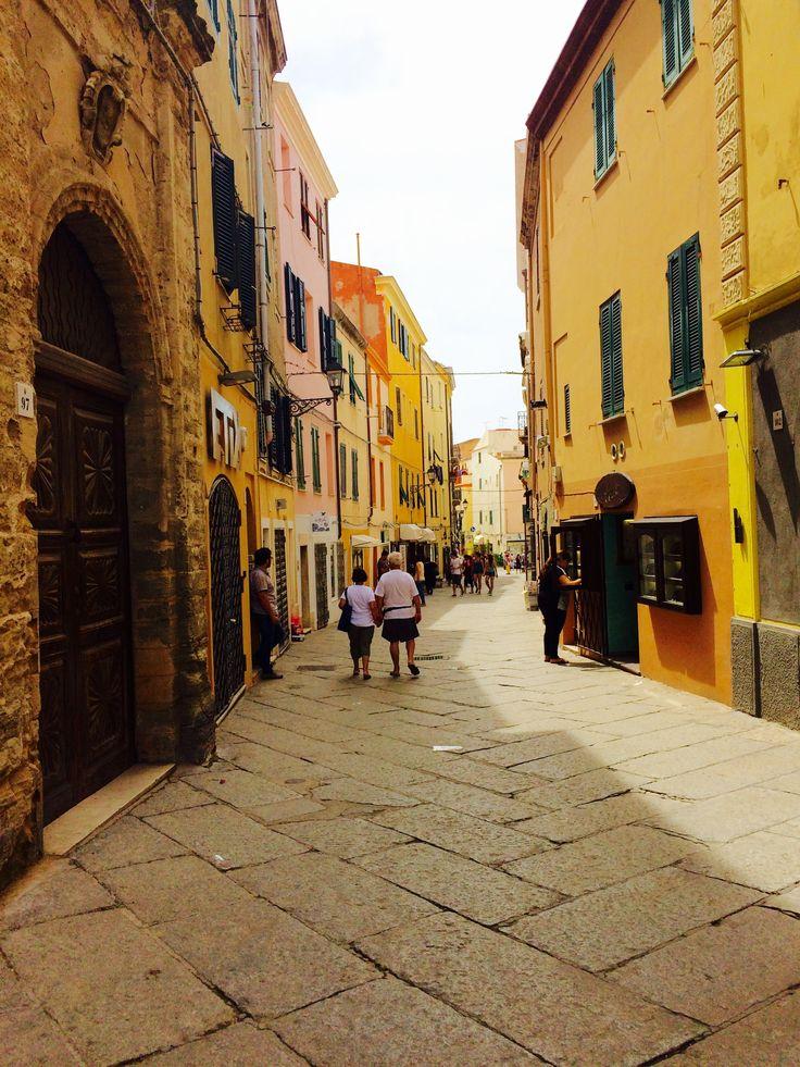 Walking around #Alghero #Sardegna