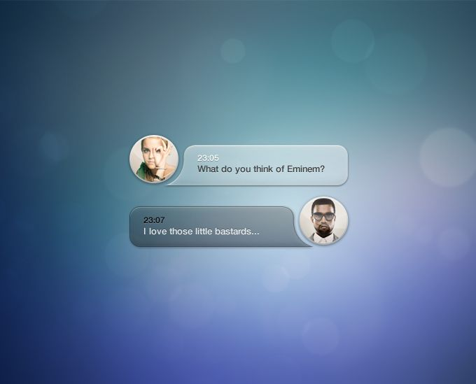 Speech Bubbles - 365psd