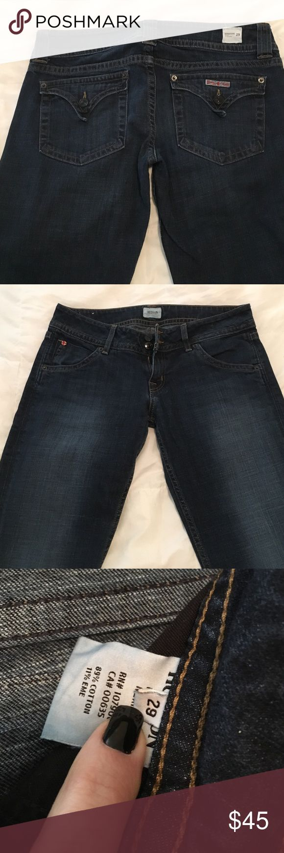 """Hudson Signature Boot Cut Jeans Perfect Condition. Non Smoking Home. Inseam 32"""" Jeans Boot Cut"""