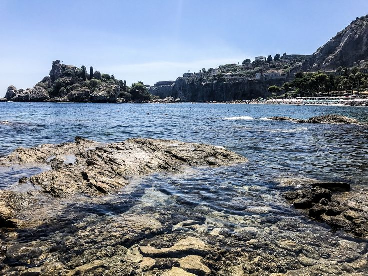 Isola Bella in Sicily is one of the most beautiful places I have ever visited.