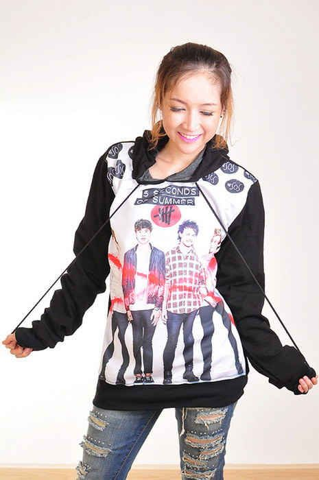 """Punk Rock Hoodie"" 