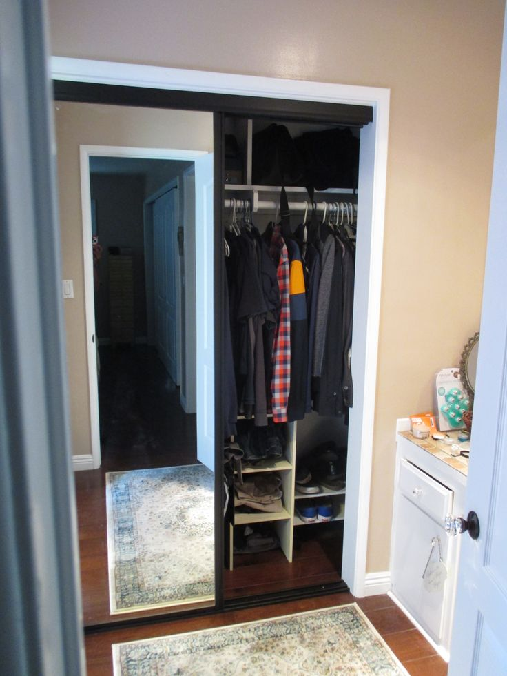 8 best 2 panel 2 track wood frame bypass closet doors images on pinterest mirror mirrors. Black Bedroom Furniture Sets. Home Design Ideas
