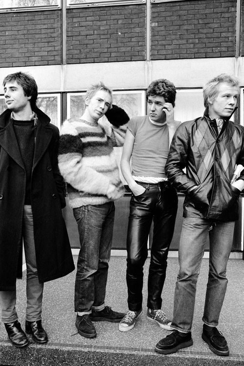 Sex Pistols. Funny how tidy they look now.