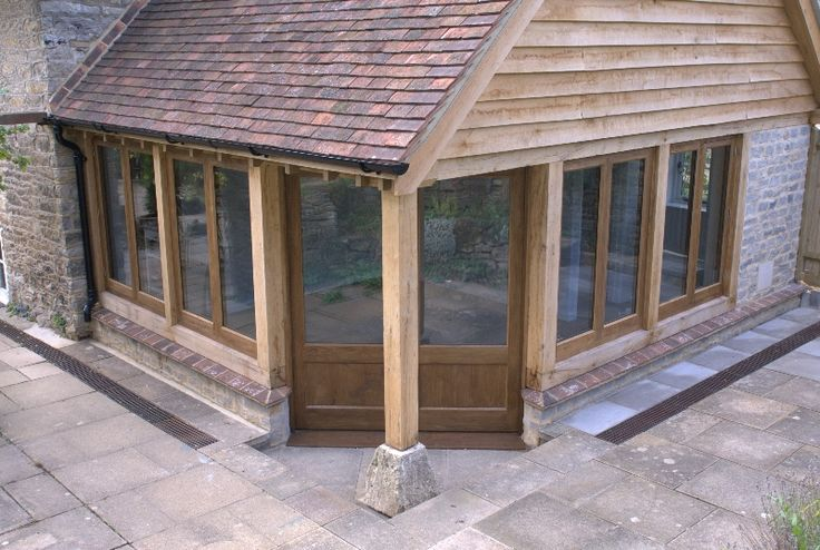 Vine Cottage Extension House Pinterest Rear