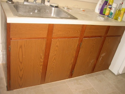 Great SheShe, The Home Magician: The Miracle Of Paint!!! Oak Laminate Cabinet