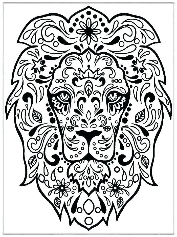 Free Adult Coloring Pages: Detailed Printable Coloring Pages for ... | 933x700