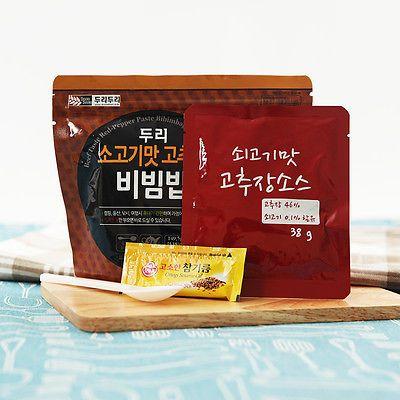 Easy cook Korean food Instant beef taste bibimbap MRE Just pour hot water * 5EA