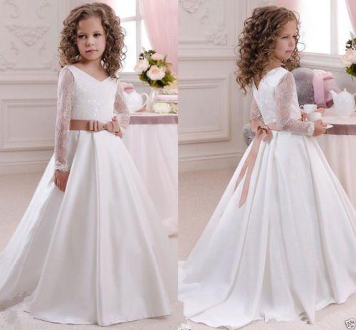 2016-Robe-de-communion-princesse-fille-mariage-robe-demoiselle-d-honneur-enfant