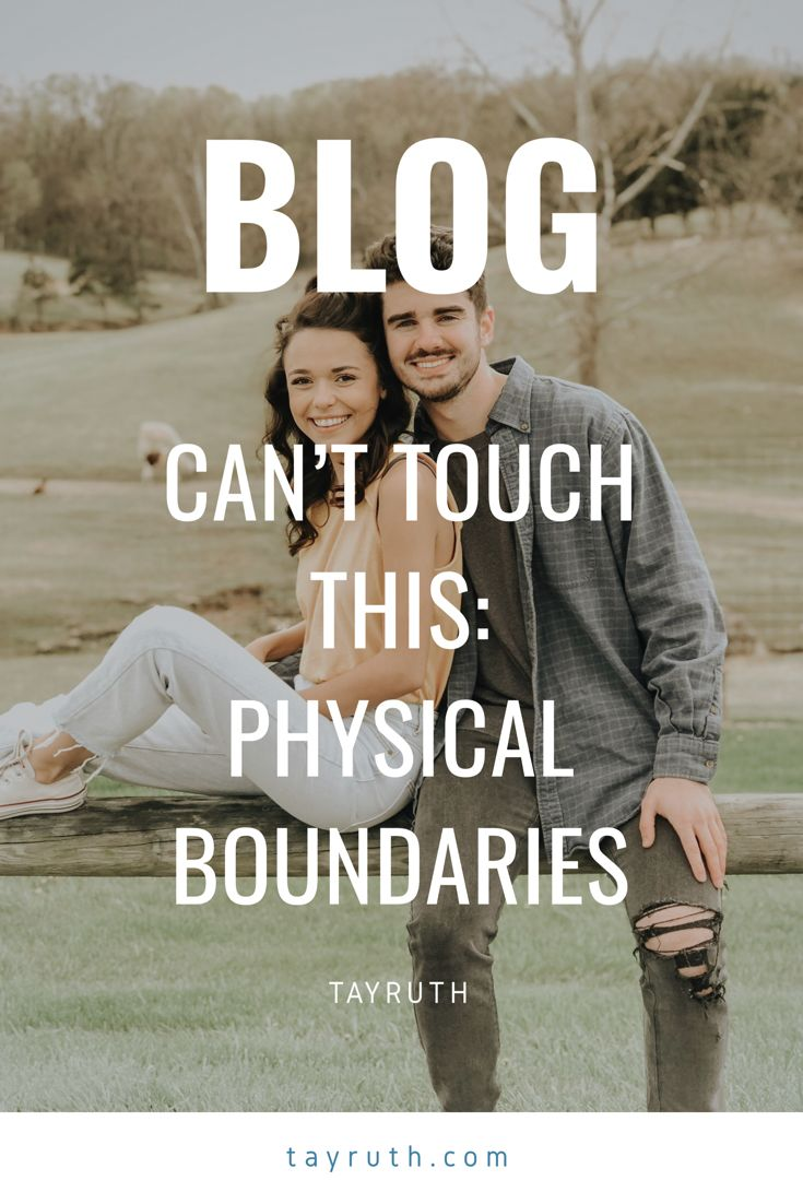 Physical dating boundaries