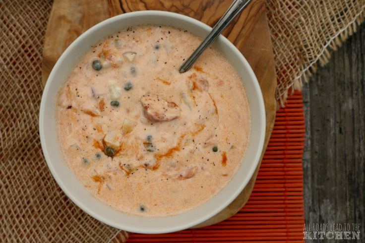 Smoked Salmon Chowder inspired by Pike Place Chowder in Seattle THIS IS HAPPENING!!!