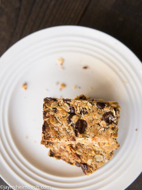 5-Ingredient breakfast granola bars [Vegan, Gluten-free]