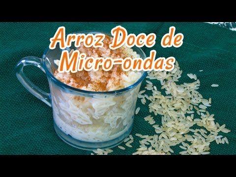 Arroz Doce Fácil de Microondas | Receitas de Minuto - A Solução prática para o seu dia-a-dia!