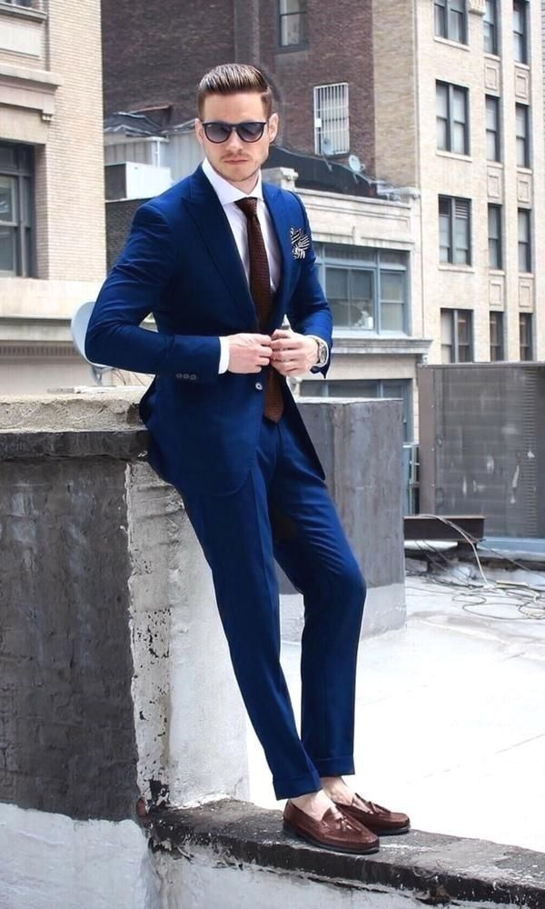 Pin by Aman Bhati on Suit | Mens fashion suits, Blue suit