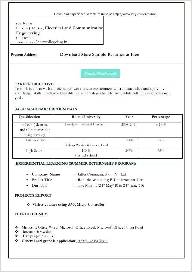 Curriculum Vitae Format Pdf Curriculum Vitae Template In 2020 Simple Resume Format Free Resume Template Download Microsoft Word Resume Template