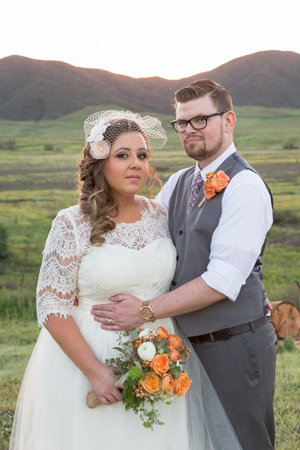 {Real Plus Size Wedding} Vineyard Wedding in California Wine Country | Jennifer Demo Photography