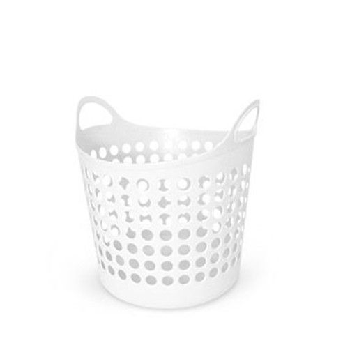 Medium White Laundry Basket available from Storables.com, 10.95. Check out other pin for a smaller version
