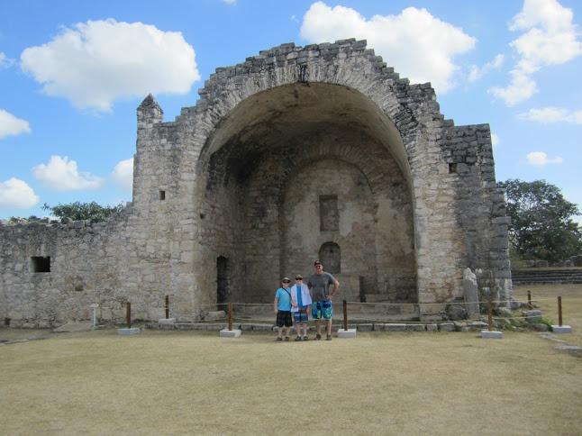 Mayan Ruins in Progresso, Yucatan Mexico