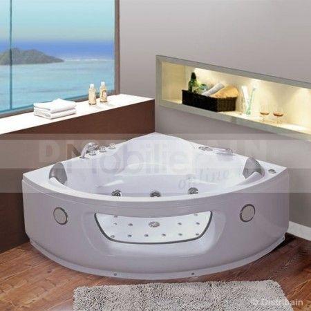 1000 id es sur le th me baignoires romantiques sur pinterest baignoires salles de bains. Black Bedroom Furniture Sets. Home Design Ideas