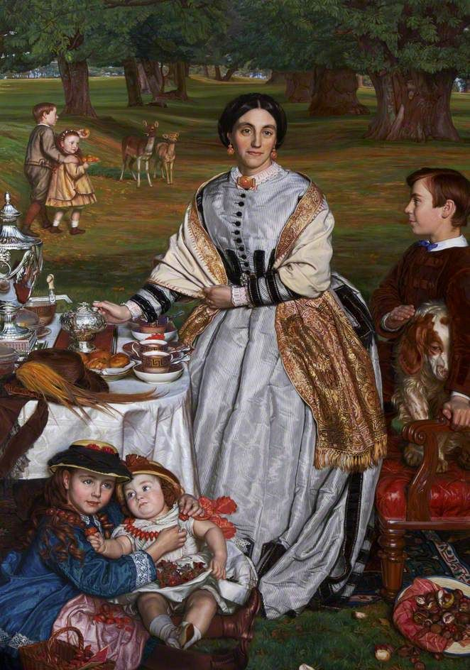The Children's Holiday, by William Holman Hunt