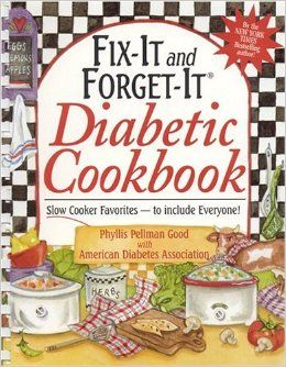 Fix-It and Forget-It Diabetic Cookbook: Slow-Cooker Favorites to Include Everyone!: Phyllis Good  Easy crockpot recipes for the diabetic on your Christmas list.