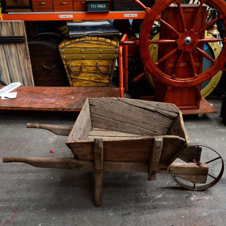 Wood Wheelbarrow: 25+ Best Ideas About Wooden Wheelbarrow On Pinterest