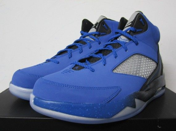 Air Jordan Flight Future Remix  Sport Blue  Black  Cool Grey