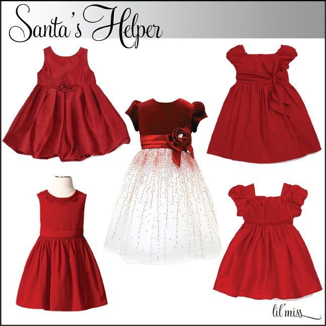 Holiday Dresses #kids #kidsfashion www.Lil-Miss.com